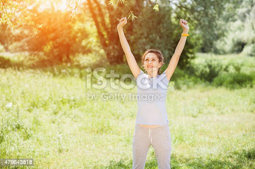 479652946istockphoto woman exercising outdoors 479643818