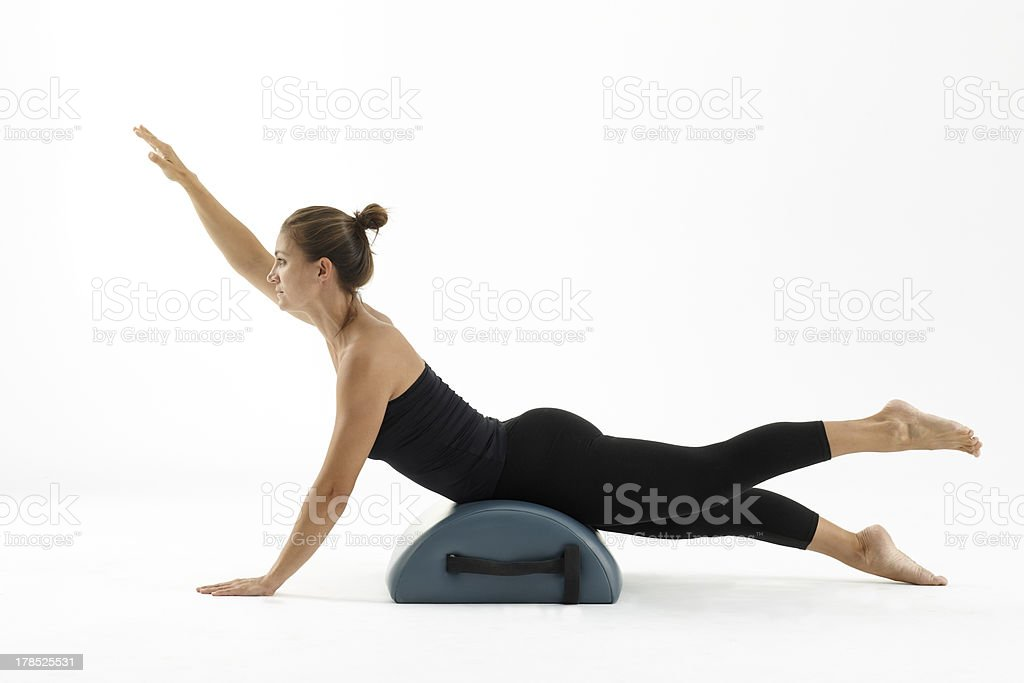 Frau Training pilates – Foto