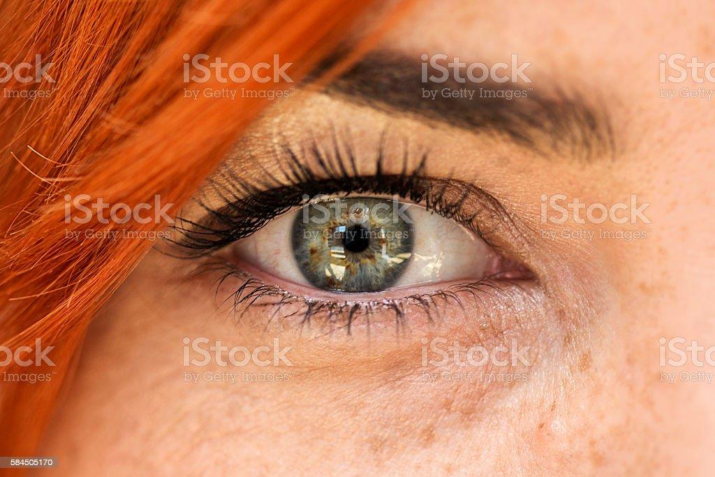 Frau Auge  – Foto
