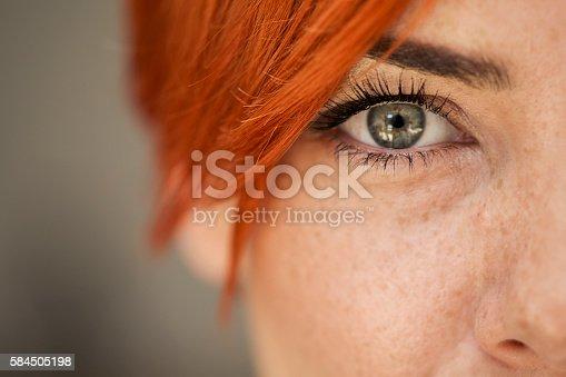 istock Woman eye 584505198