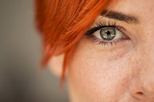 woman eye - eye stock pictures, royalty-free photos & images