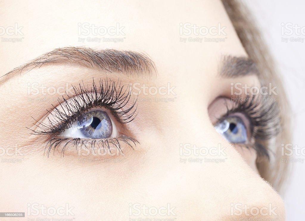 Frau Augen – Foto