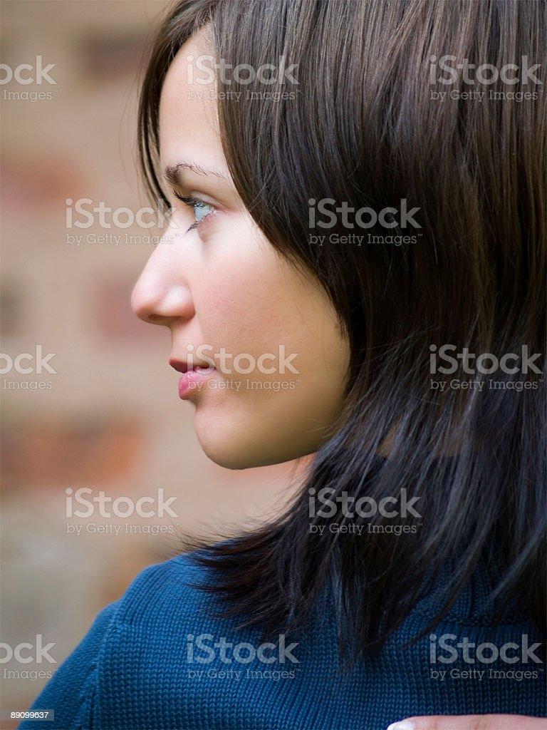 Mujer cara foto de stock libre de derechos
