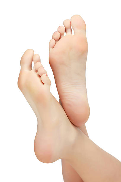 woman feet - human foot stock photos and pictures