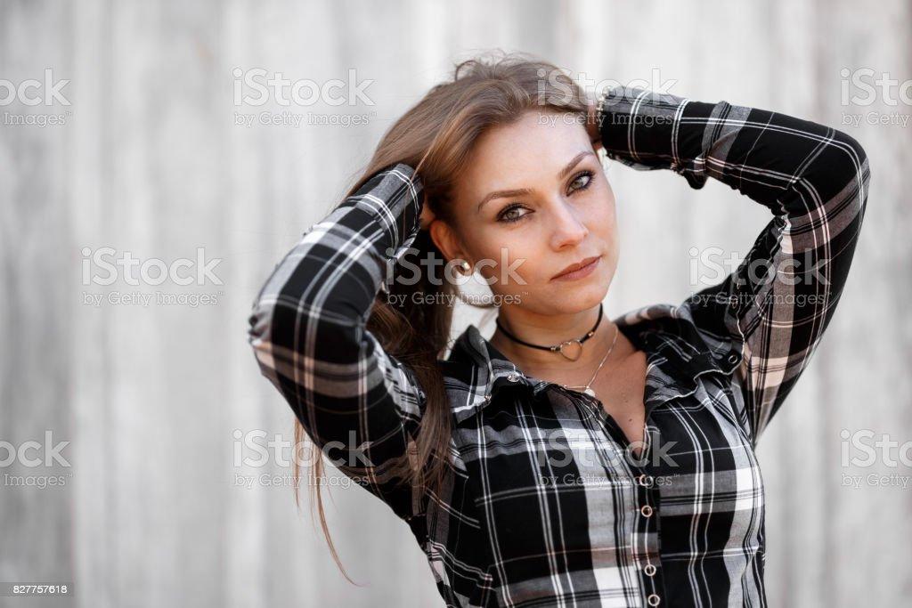 Frauen Fingersatz Fotos