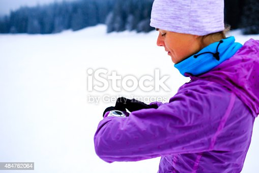 484750230 istock photo Woman fitness inspiration and motivation, runner 484762064