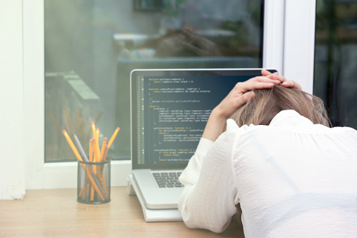 istock woman freelance programmer working from home 851328268