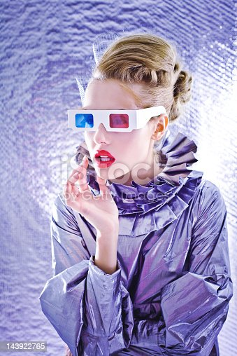 istock Woman from future 143922765