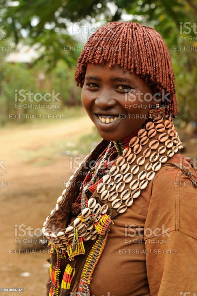Woman from Hamer stock photo
