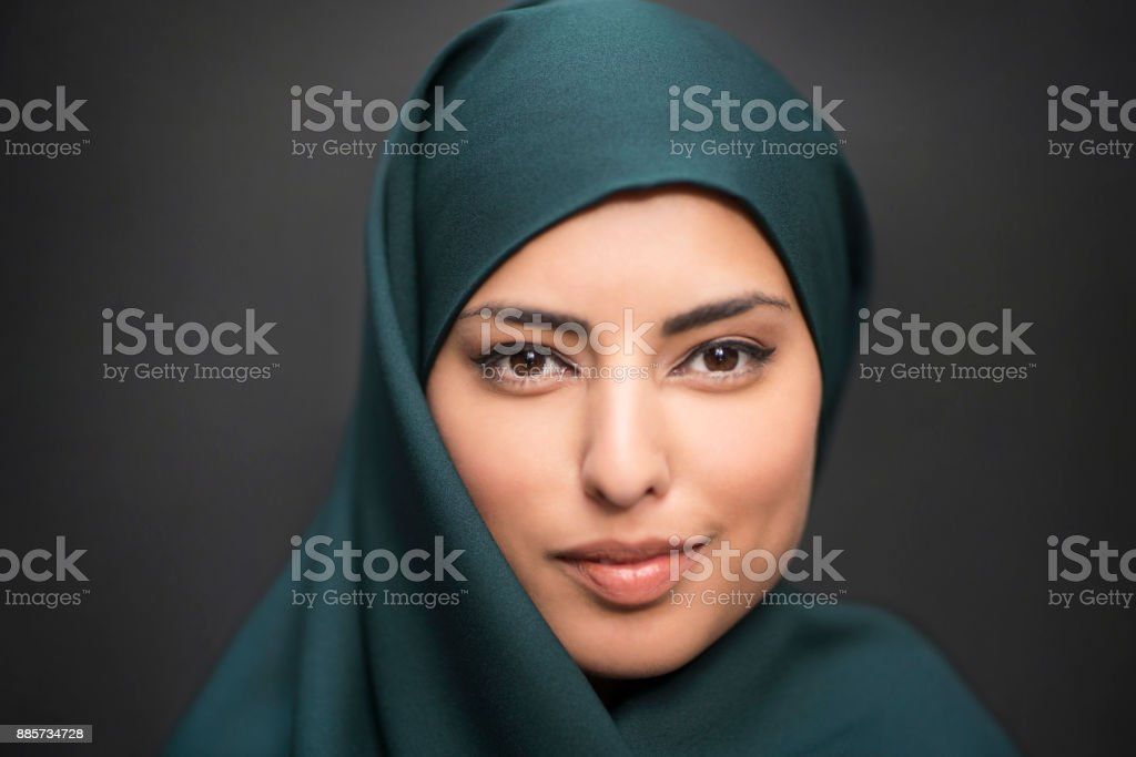 Woman From The East stock photo