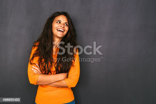 485083346 istock photo Woman Front of Blackboard 498855450