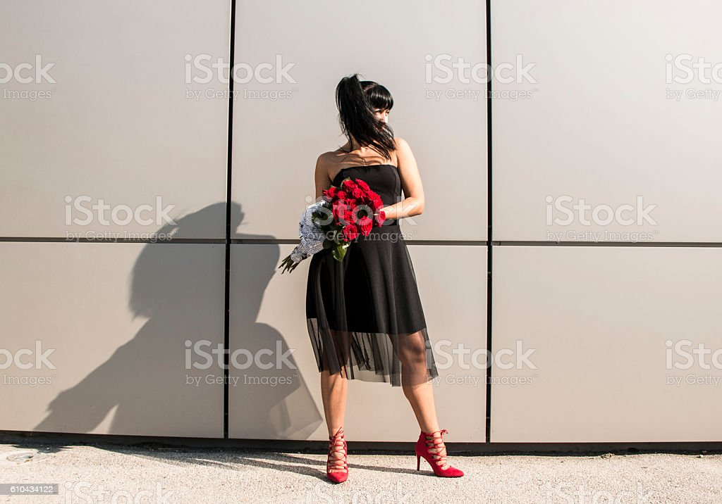 Woman glamour stock photo