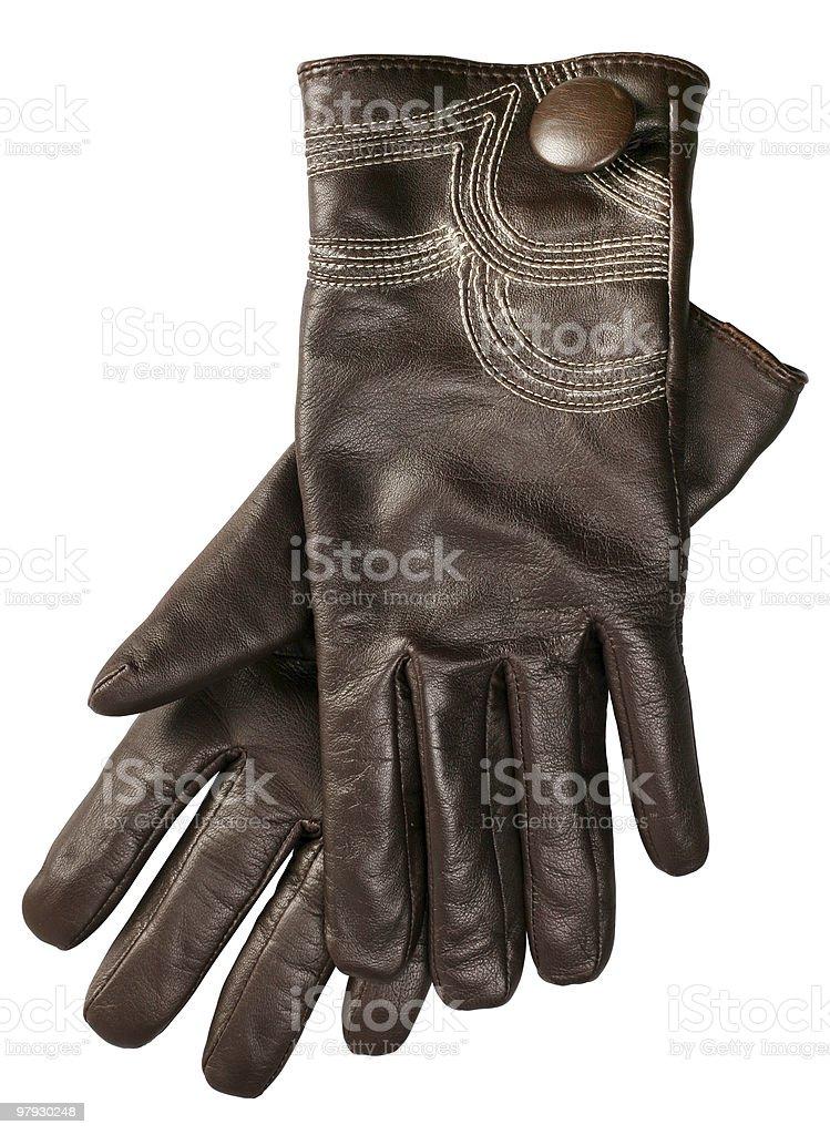 Woman glove royalty-free stock photo