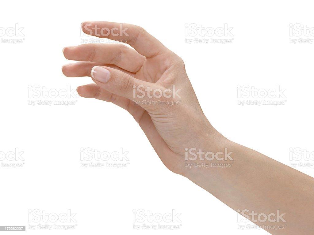 Frau hand – Foto