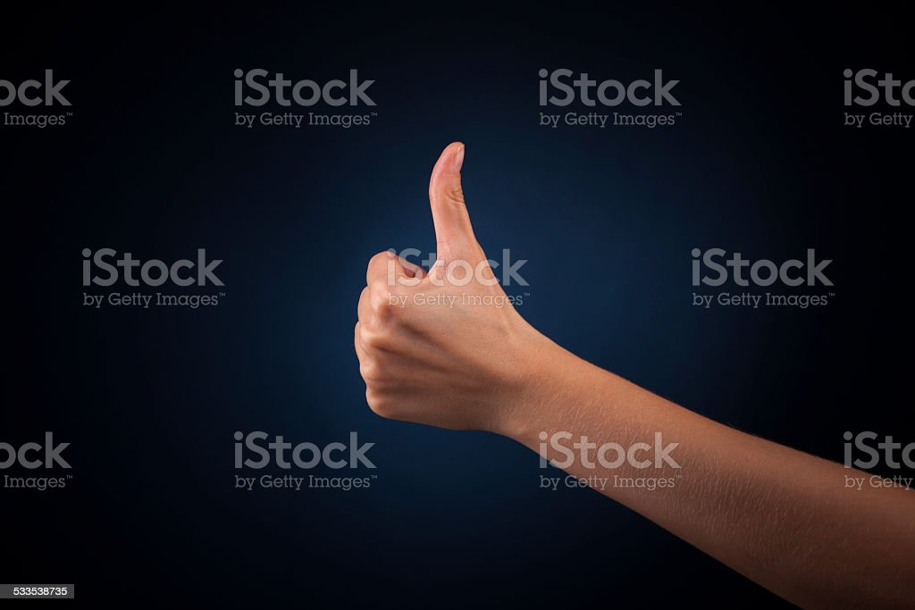 woman hand stock photo