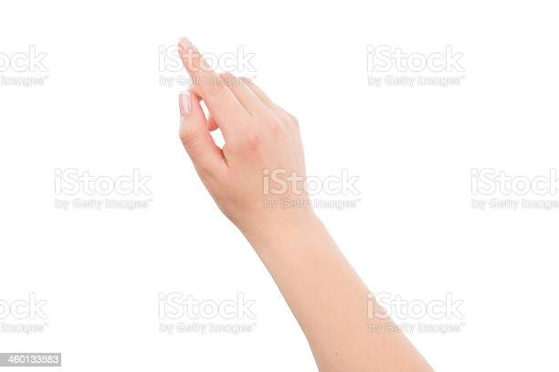 Woman hand touching or pointing to something picture id460133583?b=1&k=6&m=460133583&s=612x612&h=urbza9egcdmi77rflhw3koe 611pncbwcqwjqrwfj2w=