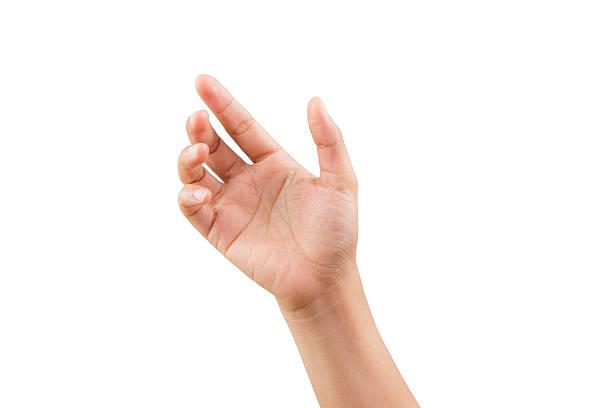 donna mano della postura - palmo foto e immagini stock