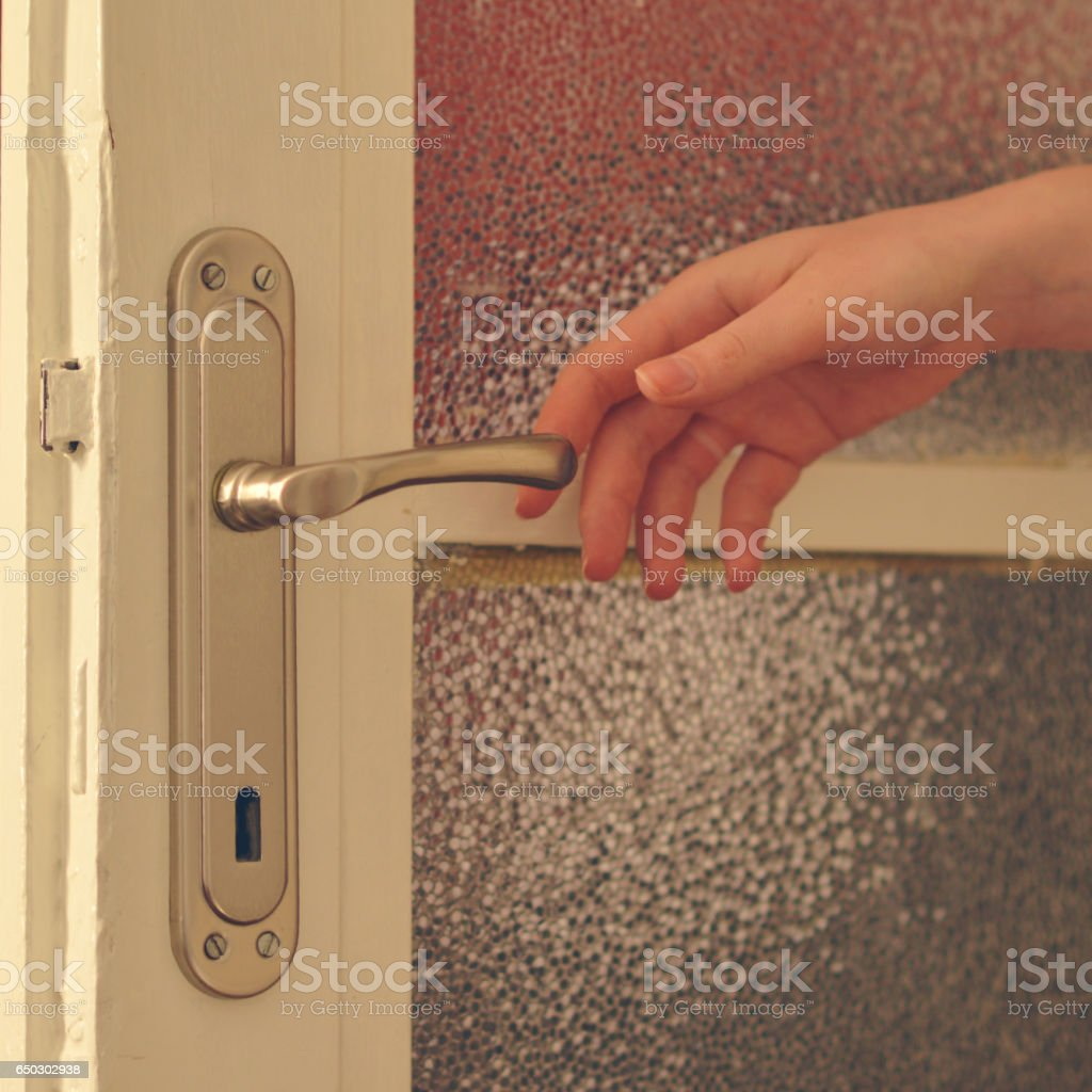 Woman hands closing r opening door royalty-free stock photo & Woman Hands Closing R Opening Door Stock Photo \u0026 More Pictures of ...