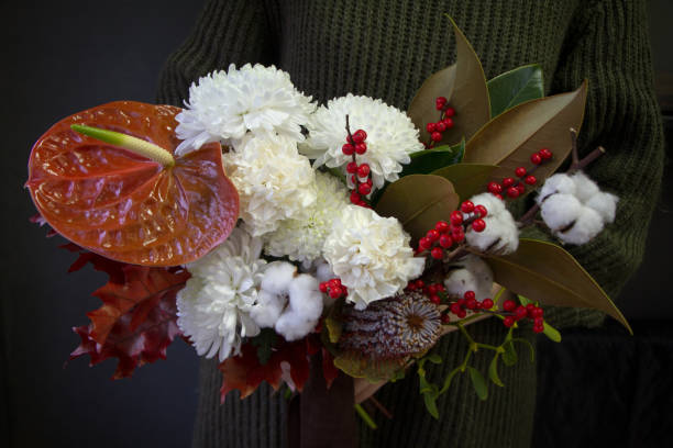 Woman hands holds a christmas or new year composition bouquet on a picture id1192743699?b=1&k=6&m=1192743699&s=612x612&w=0&h=8pelvxeol akdvbxkhn qbq25h9bajyxo6ssgrtovug=