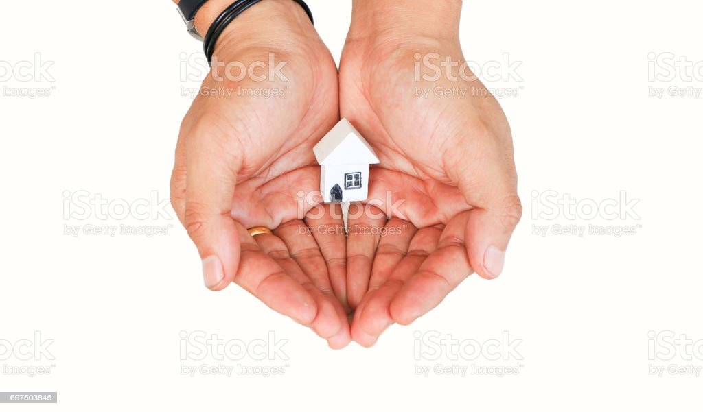 Woman hands stock photo