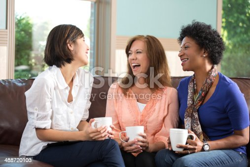 istock Woman hanging out 488720103