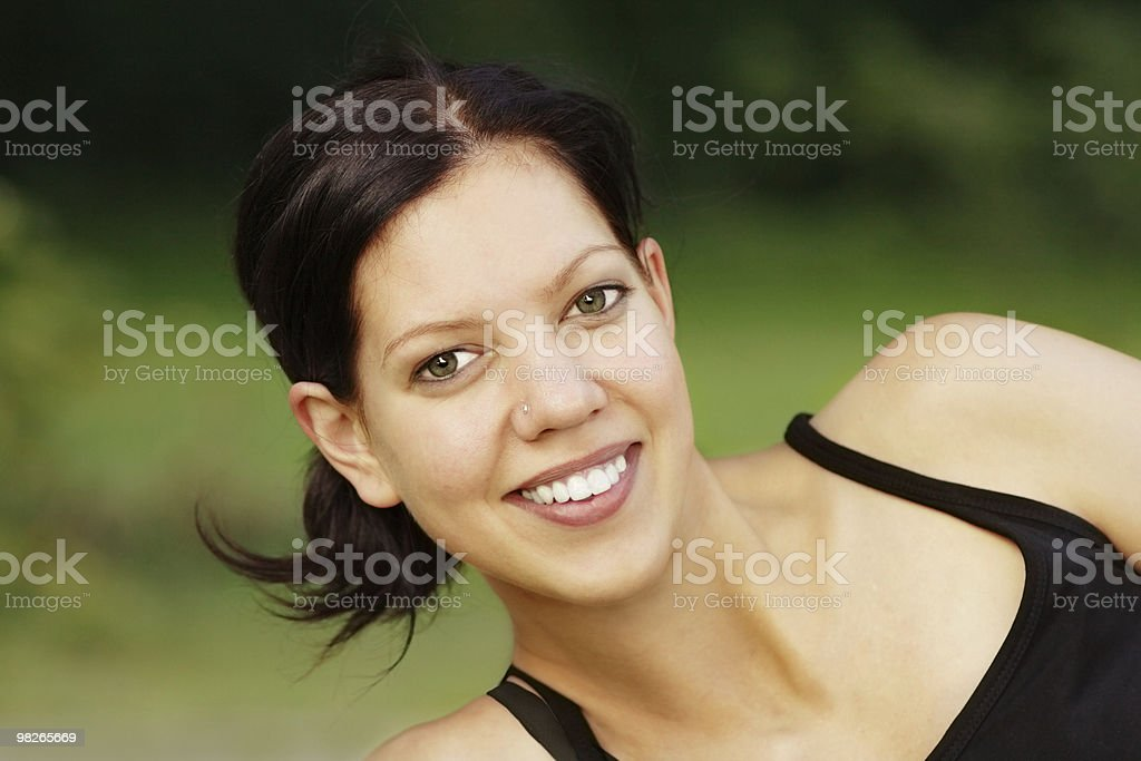 woman happy royalty-free stock photo