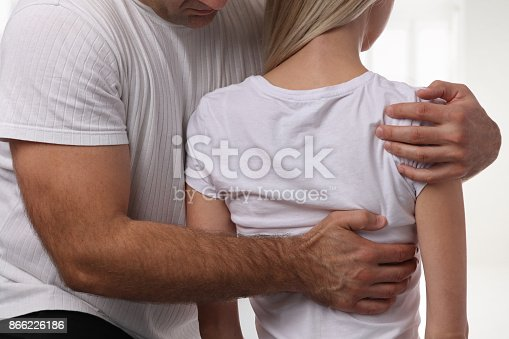 863158416istockphoto Woman having chiropractic back adjustment. Osteopathy, Physiotherapy, sport injury rehabilitation concept 866226186