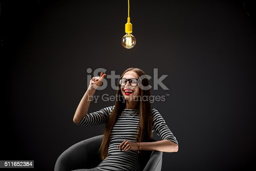 istock Woman having great idea 511652384