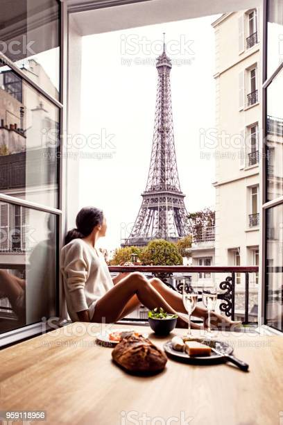 Woman having lunch in hotel in paris picture id959118956?b=1&k=6&m=959118956&s=612x612&h=lwnu7iy hd8fbrr mgfylzpp rsf5x1ph7miyr h17a=