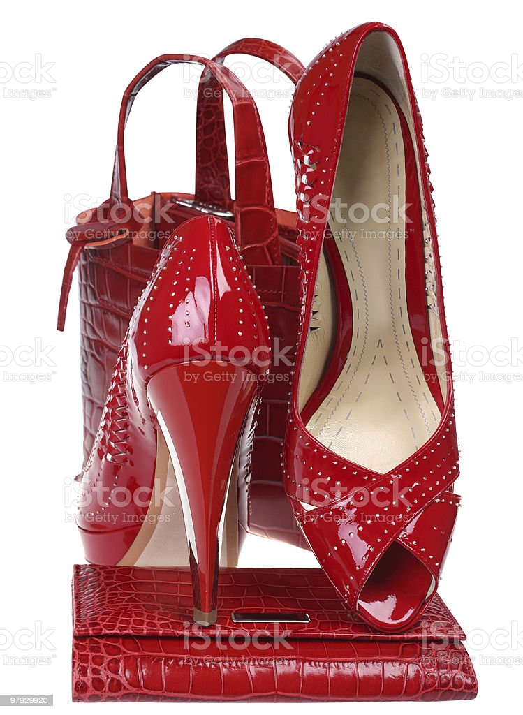 Woman high shoe royalty-free stock photo