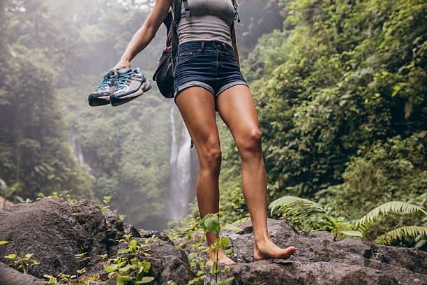 Top 60 Barefoot Woman Stock Photos Pictures And Images Istock