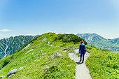 奥大日立岳でのハイキング