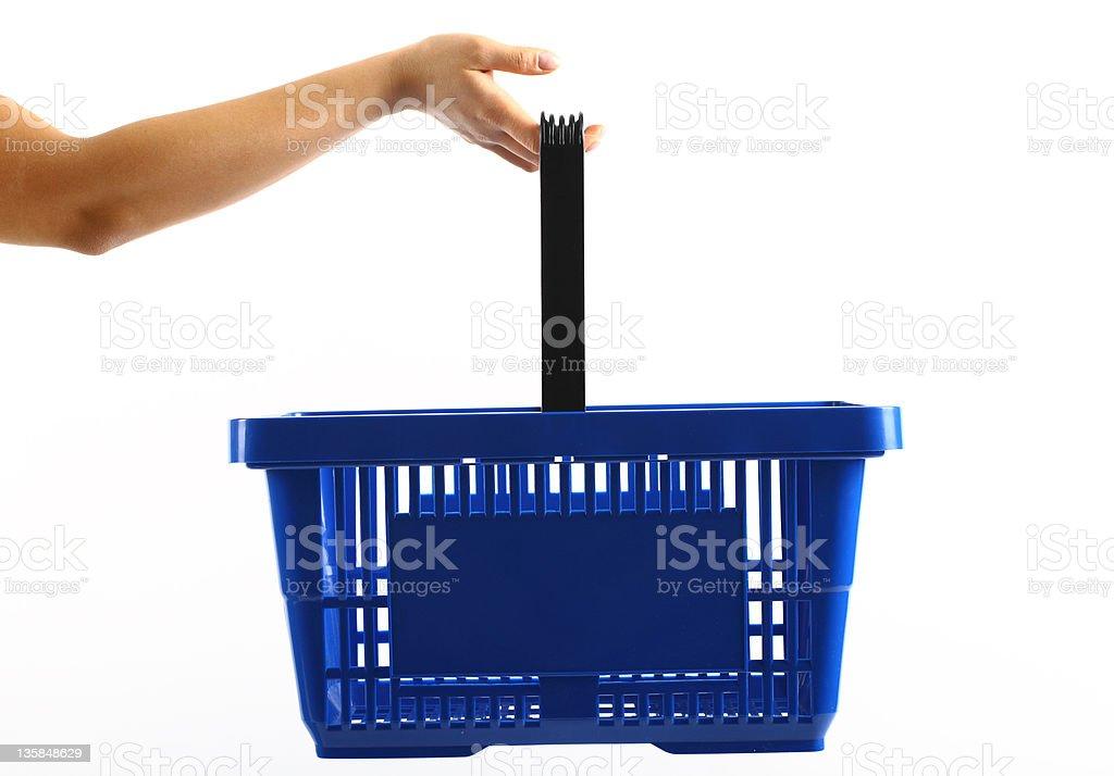 Shopping Einkaufskorb – Foto