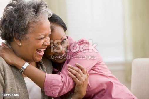 istock Woman hugging mother 132264536