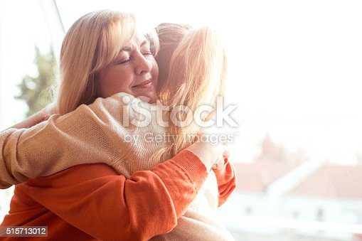 istock Woman hugging mother 515713012