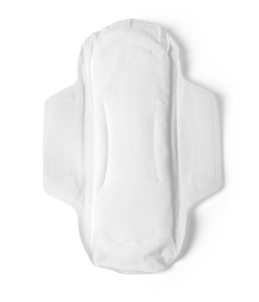 woman hygiene protection - sanitary pad stock photos and pictures