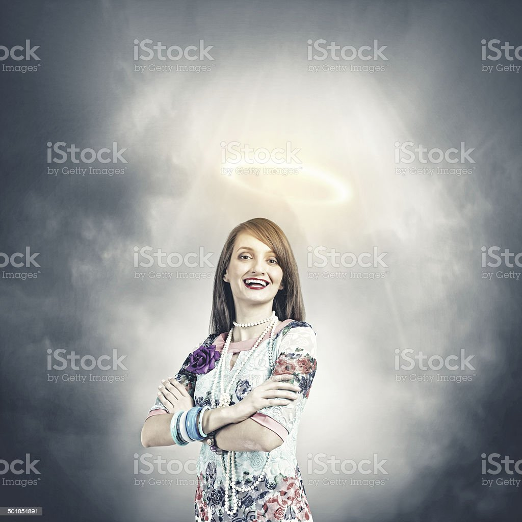 Woman i royalty-free stock photo