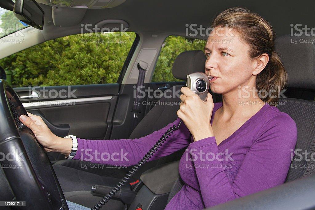 Breathalyzer Car Start