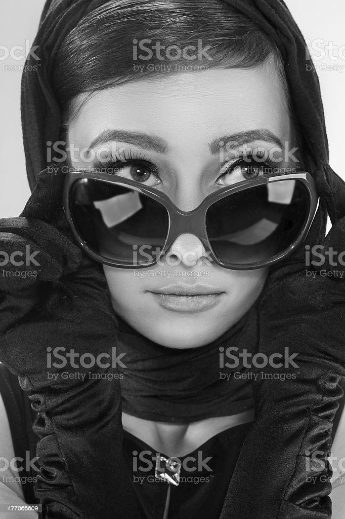 Femme dans un style rétro - Photo