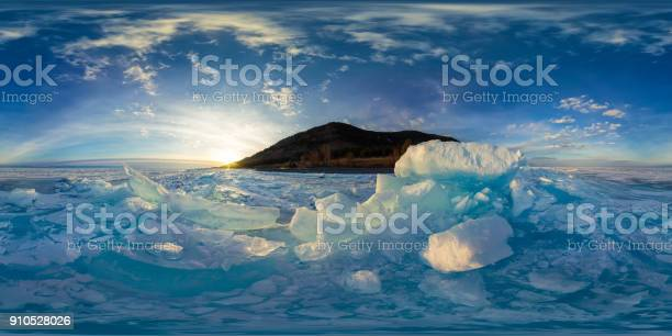 Woman in blue hummocks of the ice baikal at sunset spherical vr 360 picture id910528026?b=1&k=6&m=910528026&s=612x612&h=uq7uenuvpbsrxnopy dpgerpeomgbpbtinlopedokja=