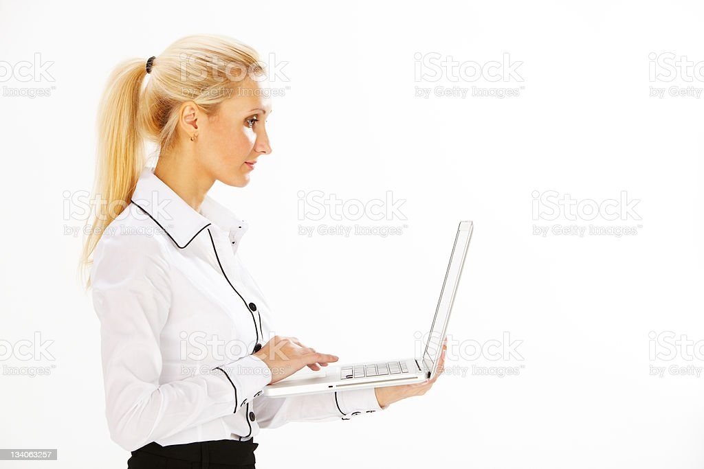 woman in business royalty-free stock photo