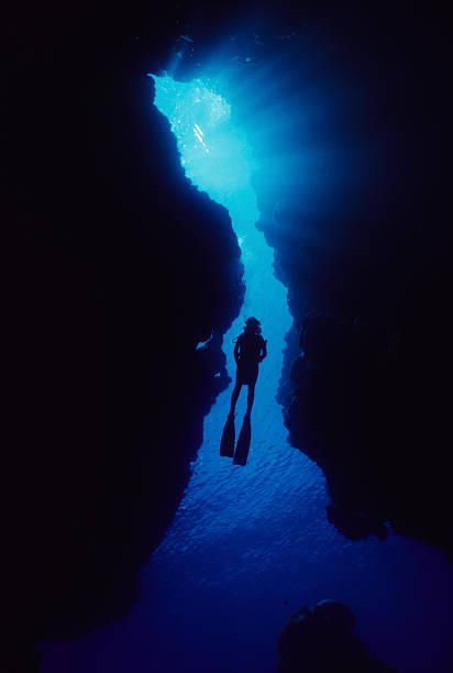 Frau In Cave – Foto