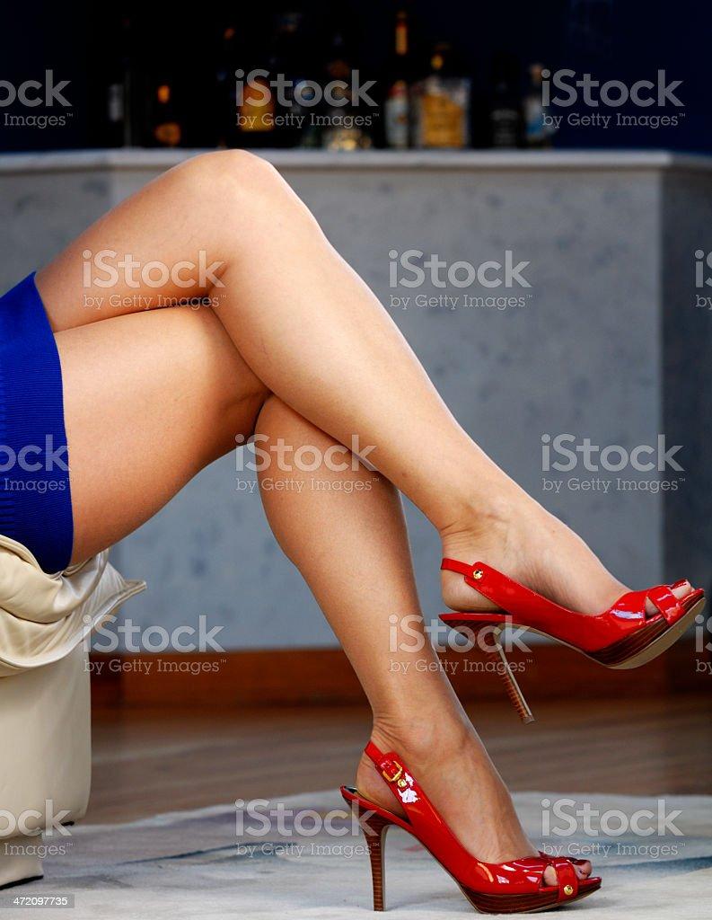 Best of high heeled mature