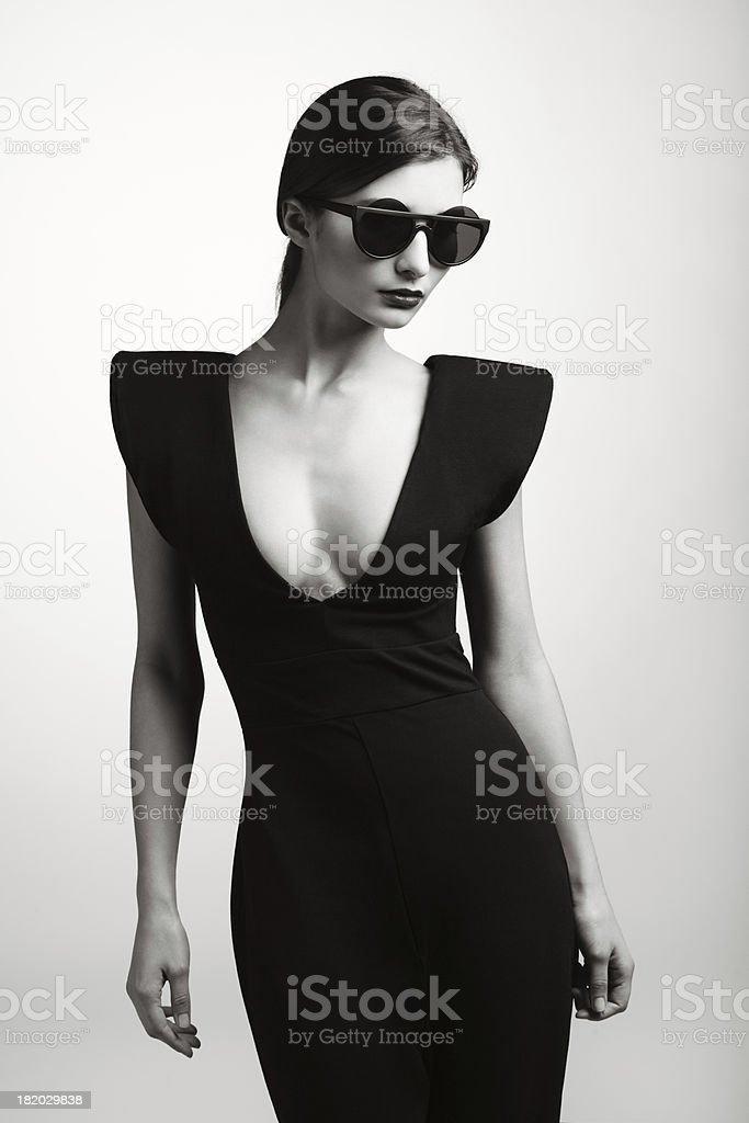 pretty nice cd100 a72bd Donna In Vestiti Alla Moda Alla Moda - Fotografie stock e ...