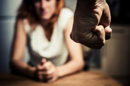 istock Woman in fear of domestic abuse 180135142