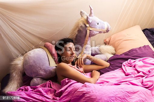istock Woman in her home 913172878