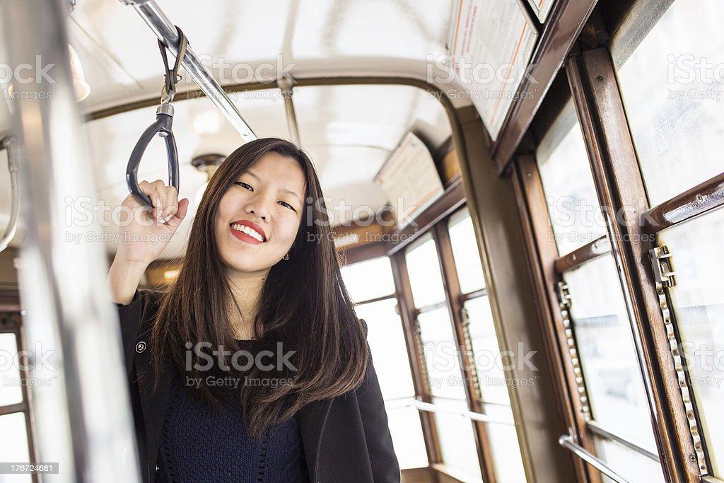 Woman in Milan royalty-free stock photo