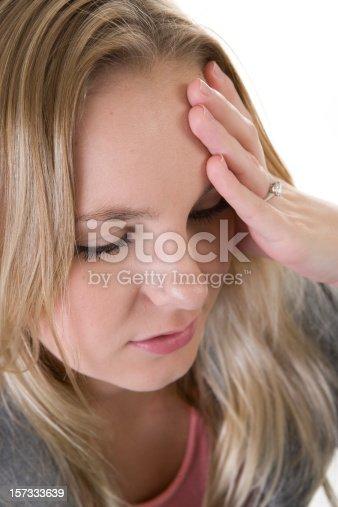 istock Woman in Pain 157333639
