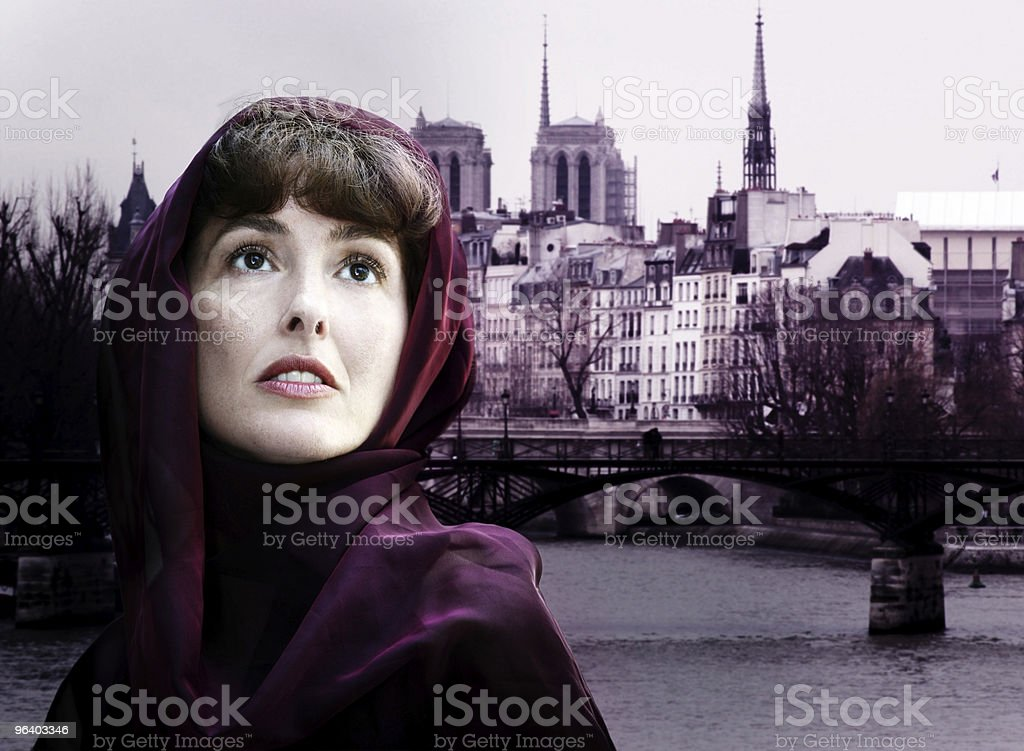 Woman in Paris - Royalty-free Adult Stock Photo