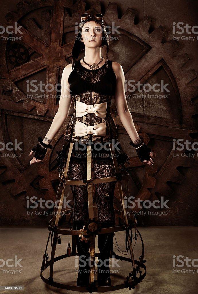 colección completa gran selección valor fabuloso Moda Mujer En Steampunk Foto de stock y más banco de ...
